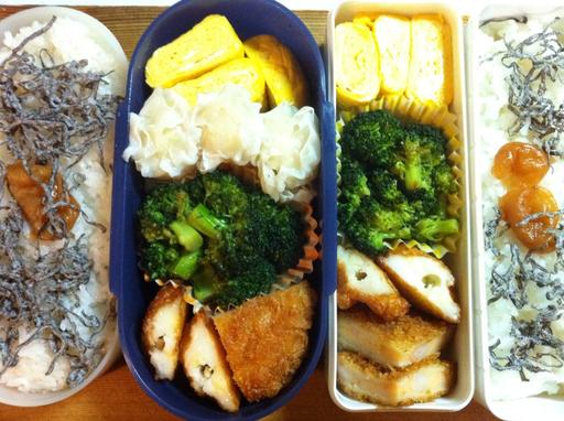 パパのお弁当 2012-01-30