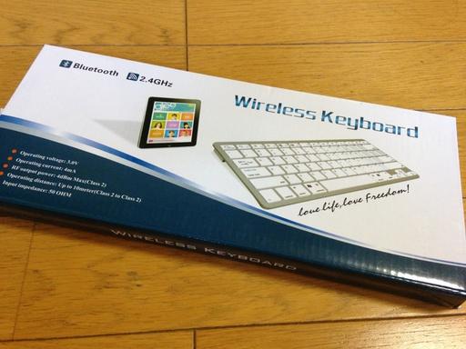 Bluetoothキーボードを買いました-20130514-1