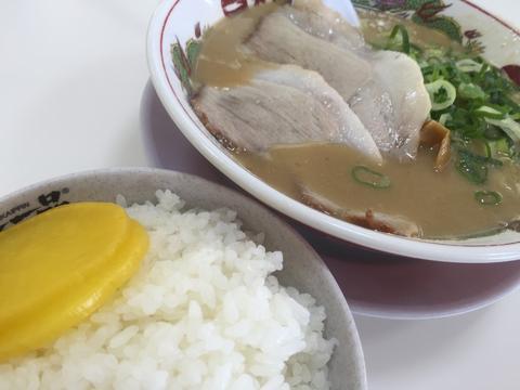 2015/08/04 天下一品 上鳥羽店 ラーメンとライス