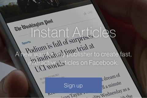 Facebook instant article の設定をしたら