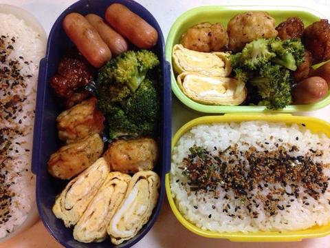 パパのお弁当 2014-01-23