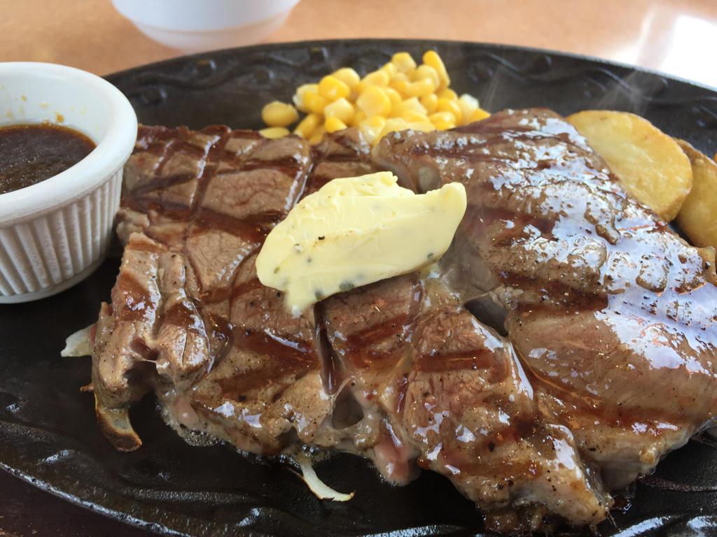 ワイルドステーキ(200g) ステーキハンバーグ&サラダバー けん 大津柳が崎店
