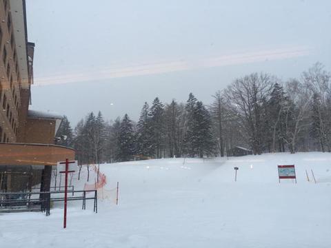 2日目:雪質改善するも・・・